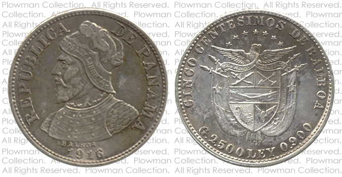 Example of a Cinco Centésimos of 1904-1916 Coin in EF-40