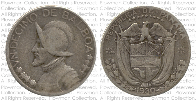 Example of a Vn Decimo of 1930-1947 Coin in G-4