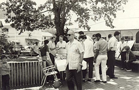 Crossroads Coin Show at Stevens Circle in 1975